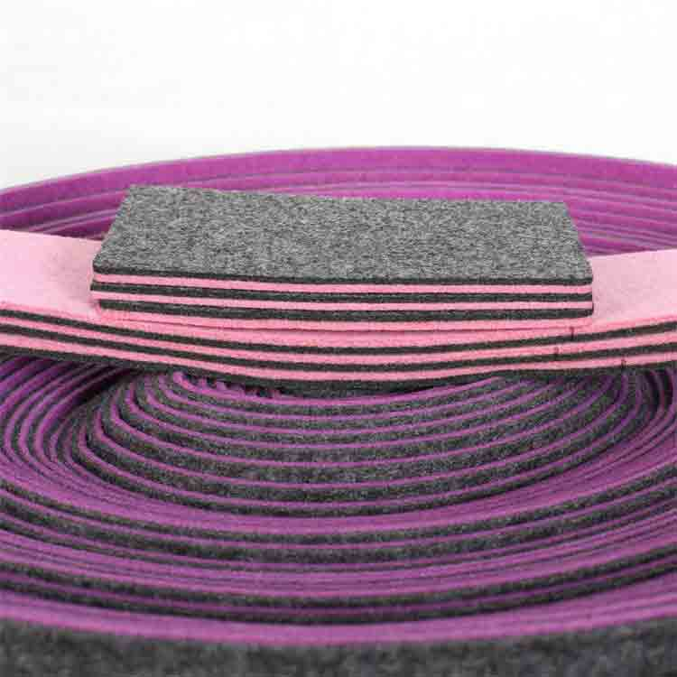mixed colors polyester felt