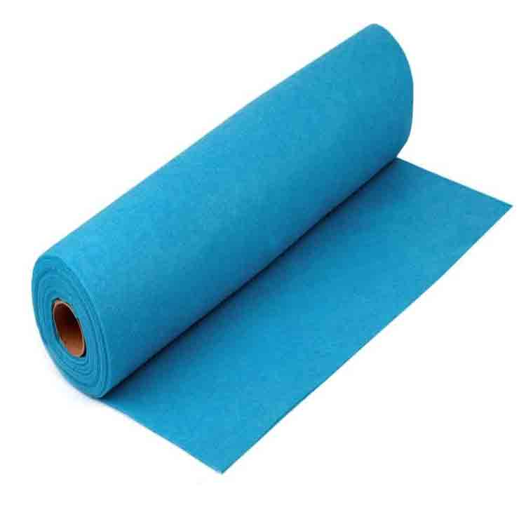 Long lasting flame retardant felt 1