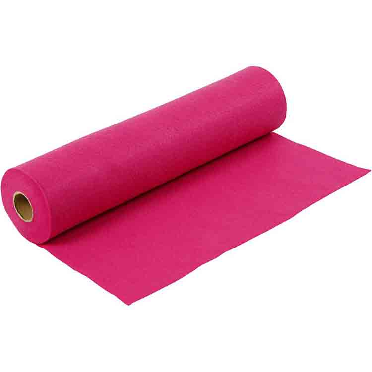Long lasting flame retardant felt 3