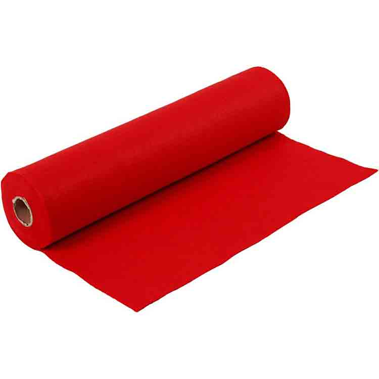 Long lasting flame retardant felt 4